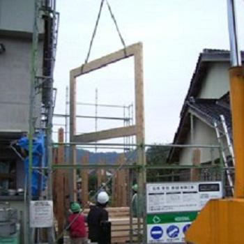 木造 門型 ラーメンフレーム 納品実績 賢 鳥取県 2