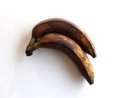 バナナ 黒