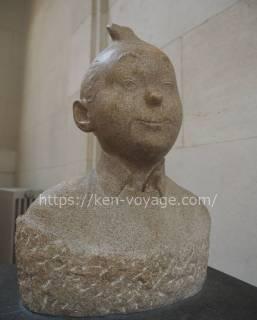 Statue of TIN TIN