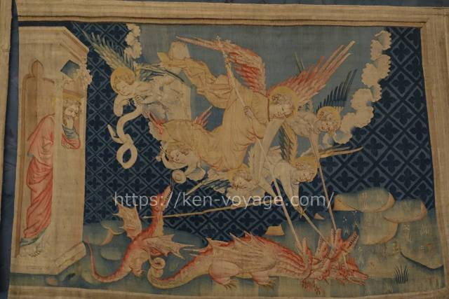 Saint Michael Fights the Dragon