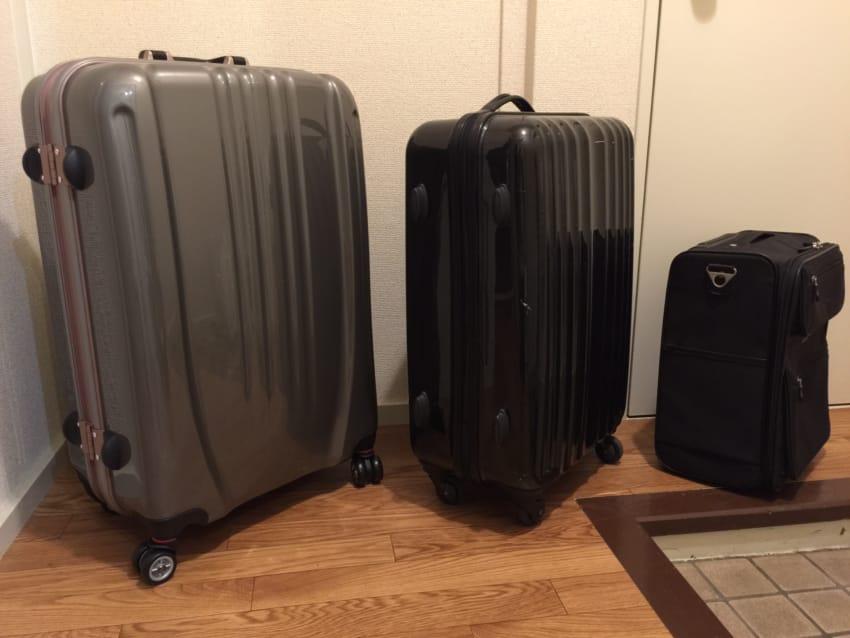 スーツケース3種