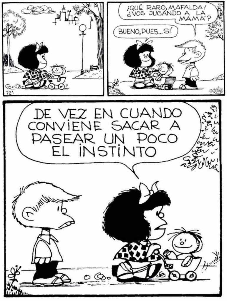 La nueva edición feminista de Mafalda, Mafalda: femenino