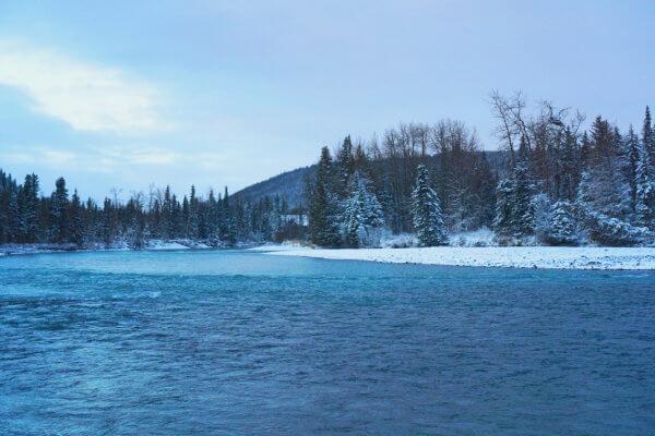 Upper Kenai River in January