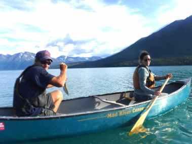 Canoe Kenai Lake