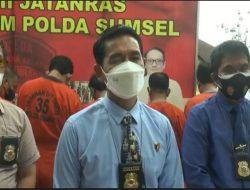 Polda Sumsel Amankan 2 Truk Pengangkut 38 Sepeda Motor Bodong dari Pulau Jawa