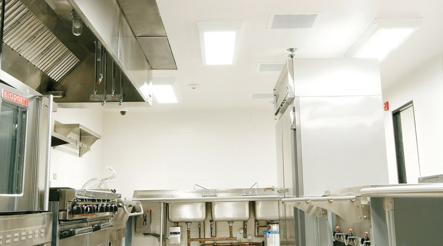 Prison Lighting for Cafeterias