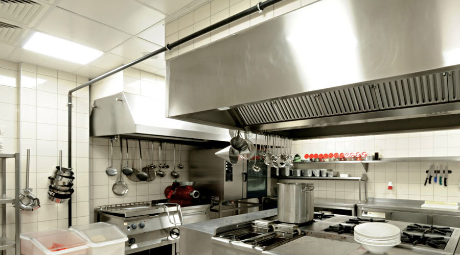 commercial kitchens pink countertops kitchen