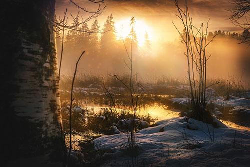 A Glorious Sunrise