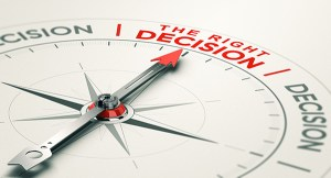 Decision pointer