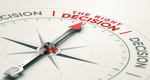 Decision pointer