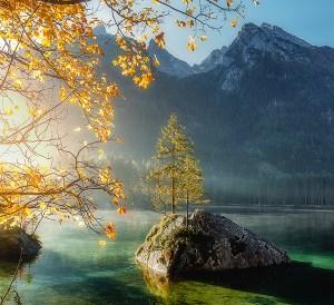 beautiful scenic island