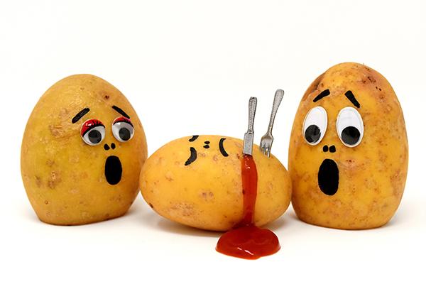 muderous potatoes