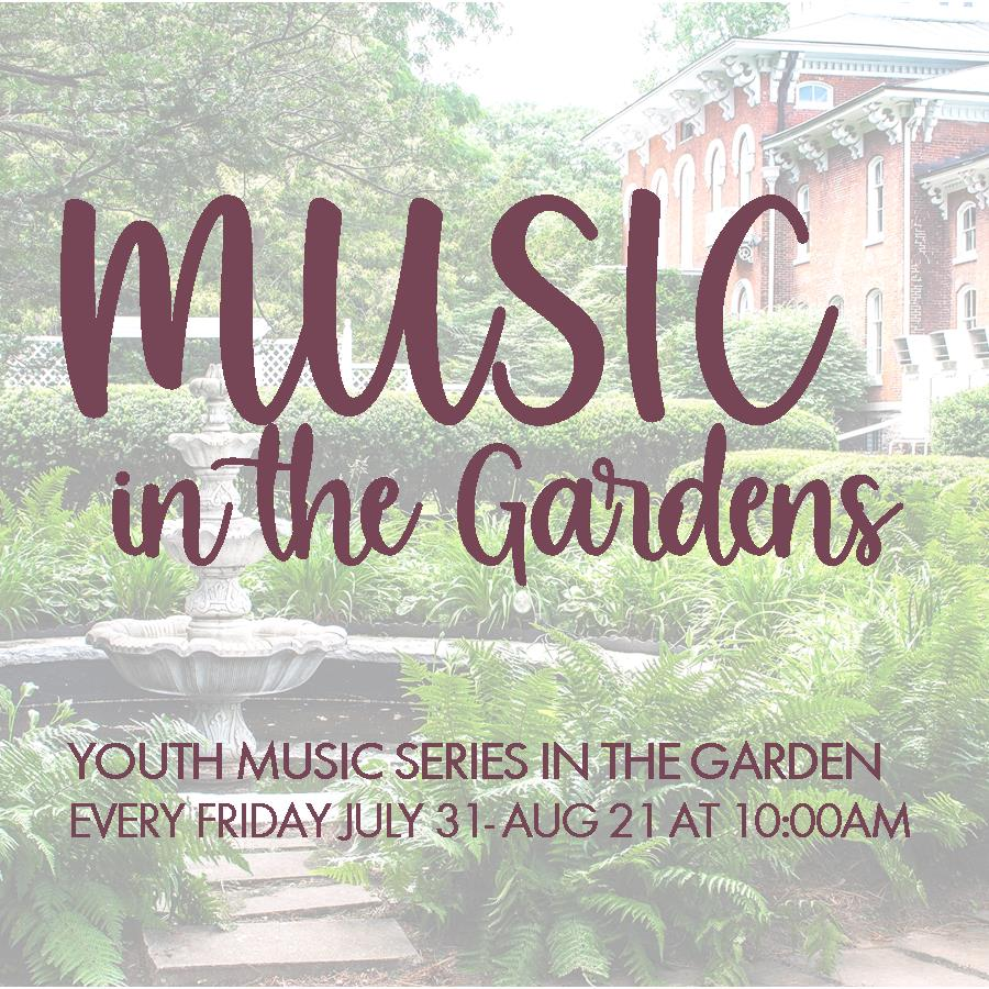 Music in the Gardens for Kids
