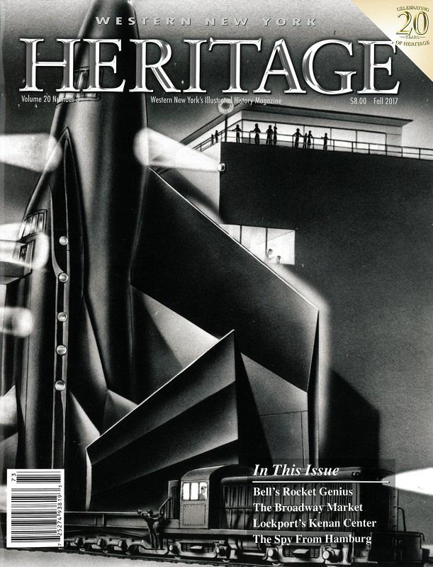 Kenan Story in WNY Heritage Magazine