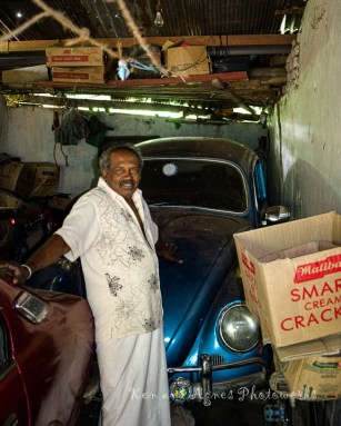 A Villager Offering His VW Beetle To Me, For My Photography Kit !!! Tempting And I Did Give It A Brief Thought. But Then ... Thanks, But No Thanks.