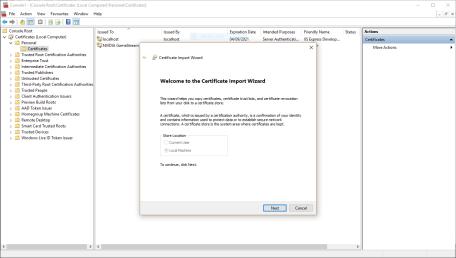 certificate-import