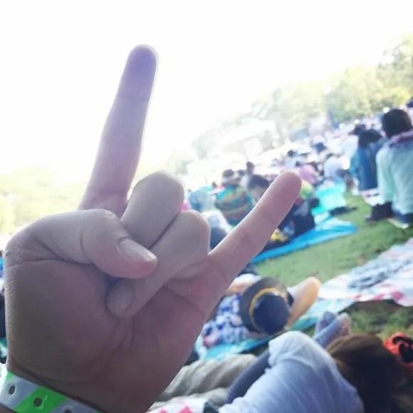 手をこういう風に掲げたい#ベリテン #JAMROCK