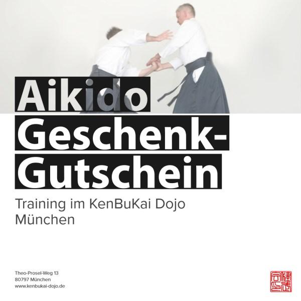 Aikido Geschenkgutschein für Aikido-Trainings im KenBuKai Dojo