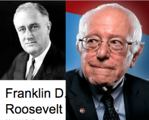 Bernie Sanders FDR connection