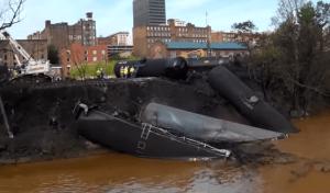 Lynchburg crude oil spill