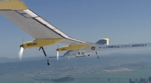 solar airplane record flight