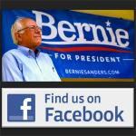 Where is Bernie Sanders on Facebook?