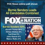 Fox News Poll Bernie Leads All Candidates