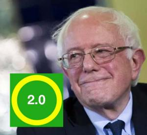 Bernie Saunders becomes the patron saint of Occupy 2.0?