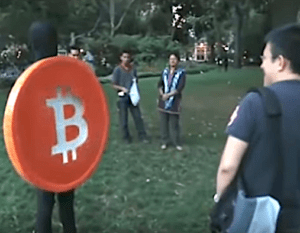 bitcoin costume
