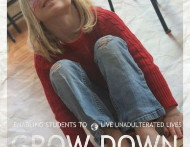 GROW DOWN poster