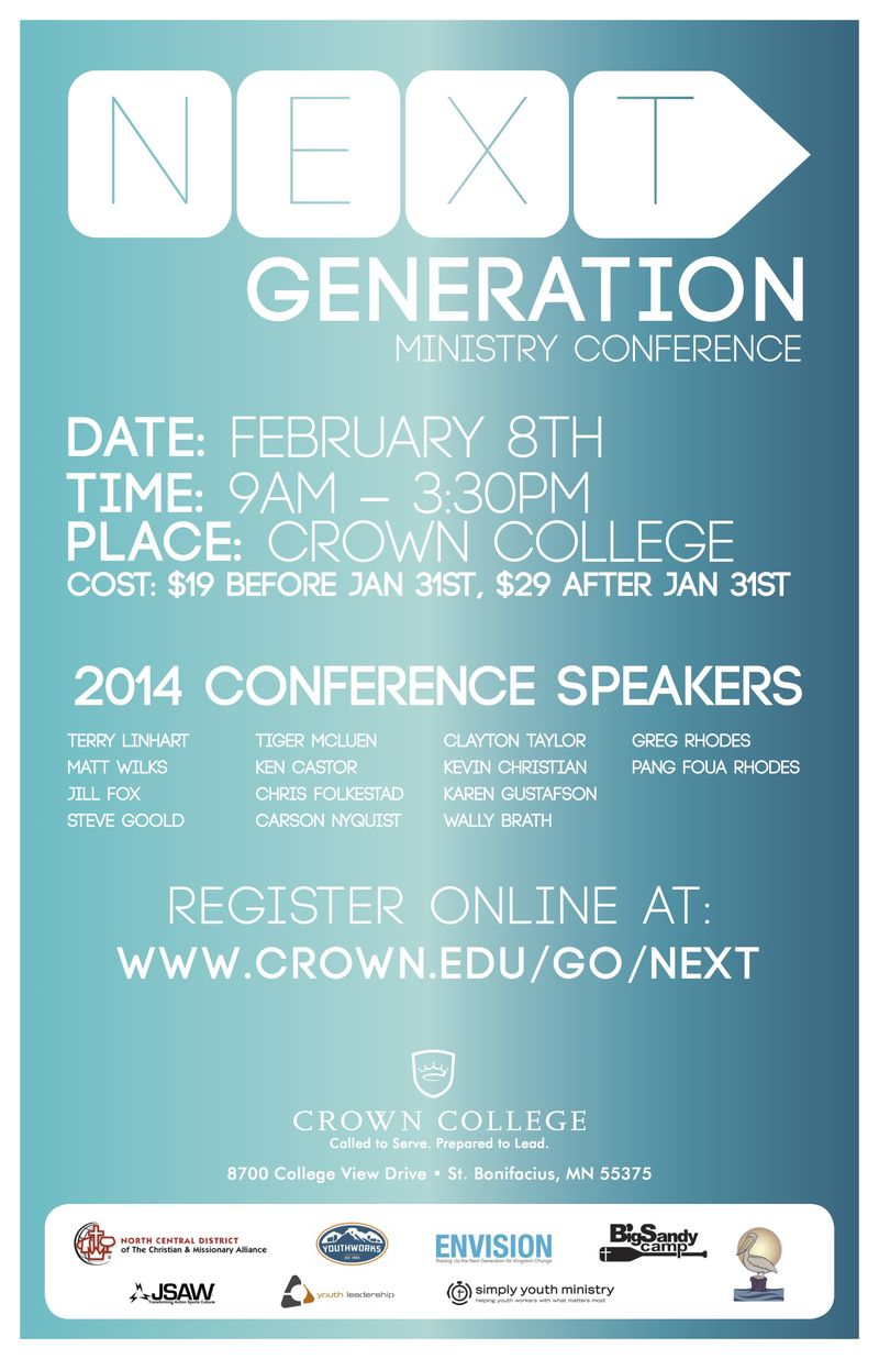 LOW-RES NEXT Conference 2014 Poster