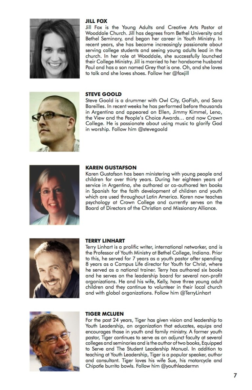 NEXT Conference 2014 Workbook Speaker 2
