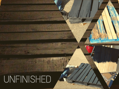 From ragged to unfinished
