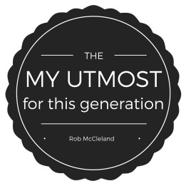 I love this devotional! It is the My Utmost for this generation. The Word is made clear and the Difference Maker challenge sticks with me throughout the day. I look forward to it every morning. - Rob McCleland, PhD, President, John Maxwell Leadership Foundation