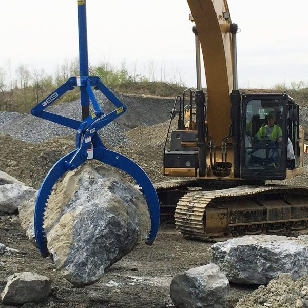 rocklift rock lifting tongs