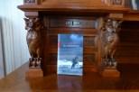 Storm desk & book