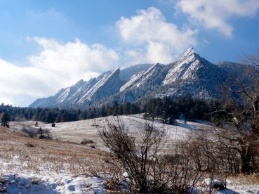 Flatirons Views from Just Outside of Boulder