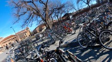 University of Colorado Campus- Check Out All of These Bikes!