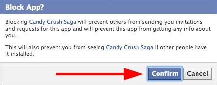 Click the Confirm button