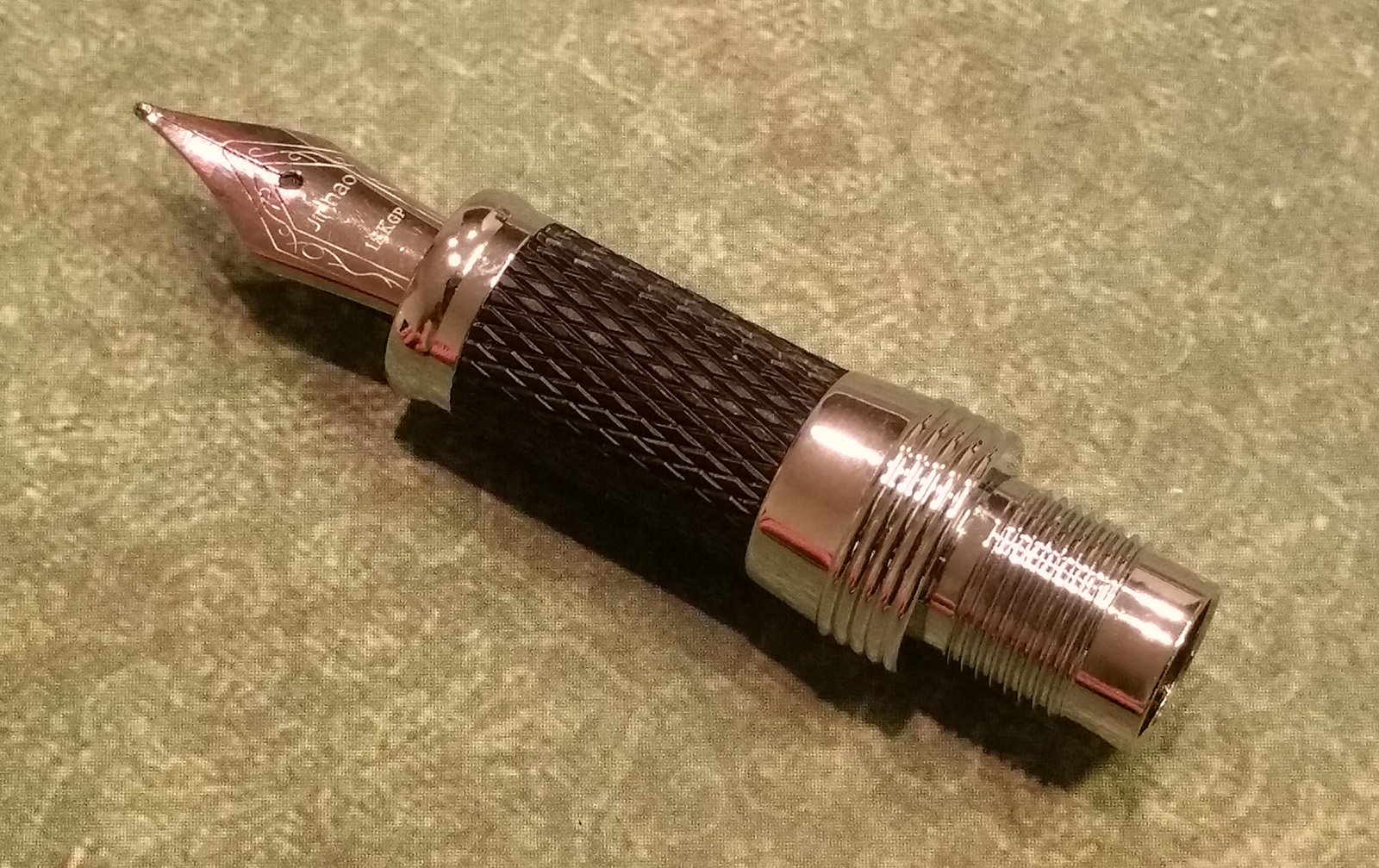 "Jinhao 189 ""Great Wall"" Fountain Pen Nib and Section"