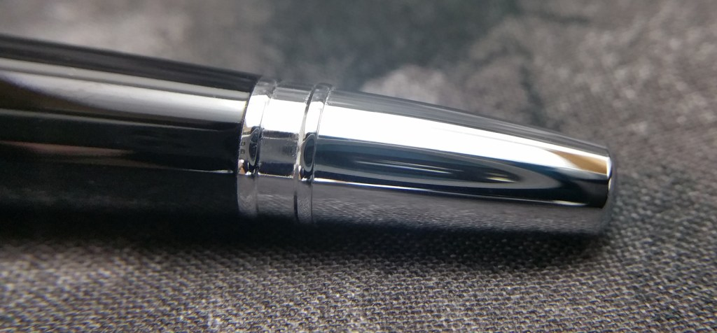The absurdly skinny Cross Dubai Fountain Pen End Cap. It looks awful. I don't get it.