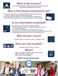 What is the Census