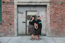 Pioneer Square Engagement Session, Nicky + Lincoln Engagement, © Kendall Lauren Photography, 2013.