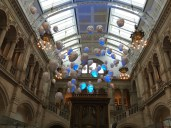 Floating Heads in Kelvingrove Gallery