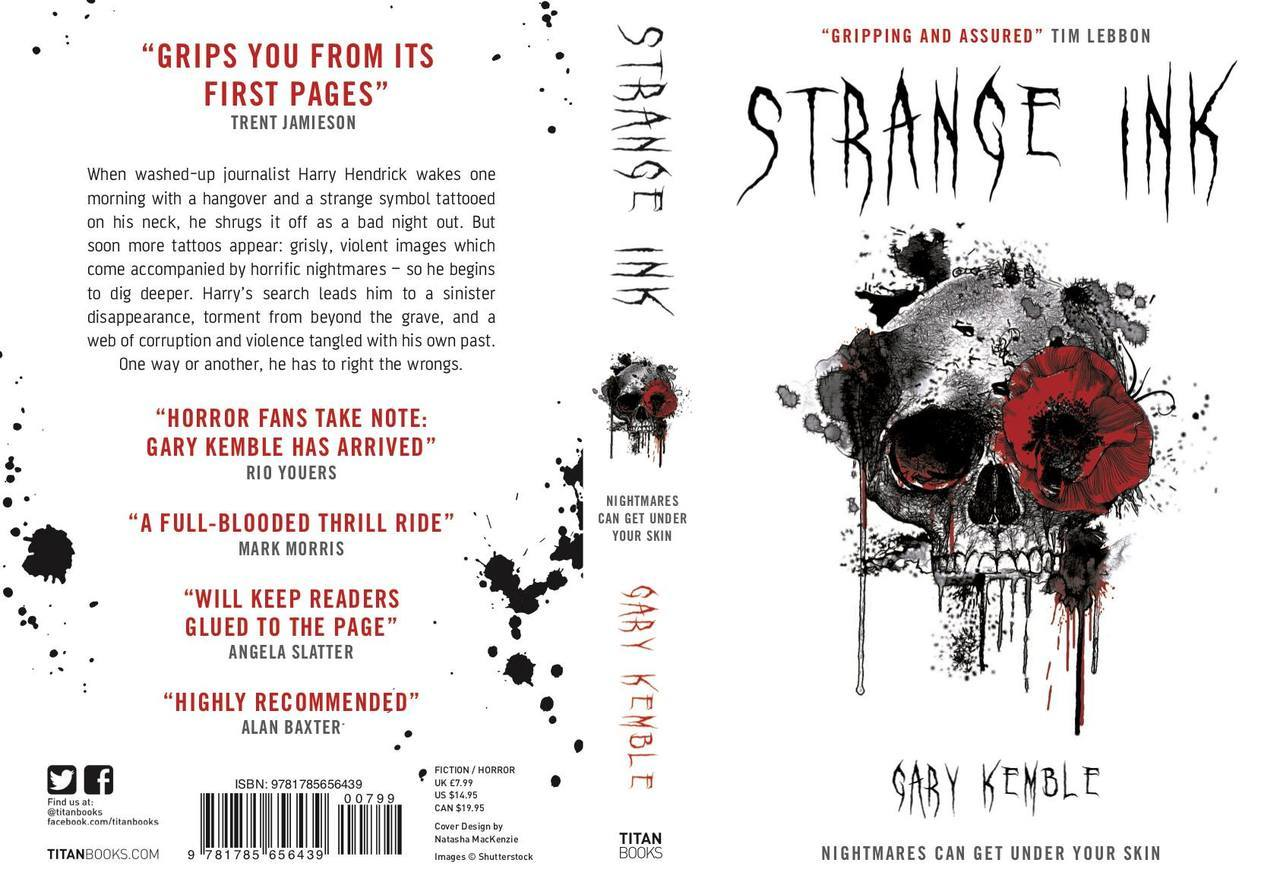 Nightmares Can Get Under Your Skin: Strange Ink author Gary