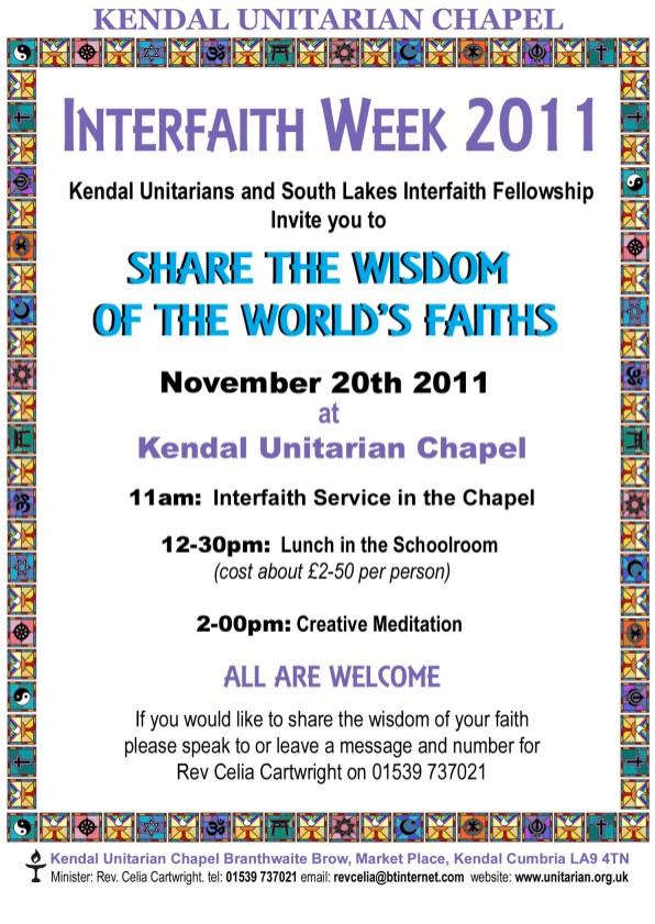 Interfaith poster 2011