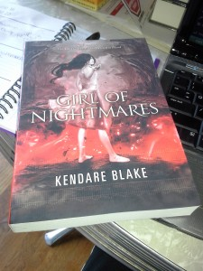 Girl of Nightmares paperback