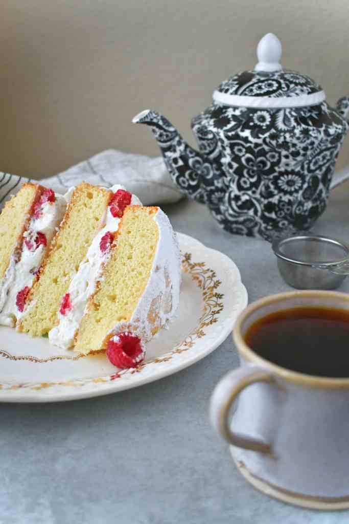 Victoria Sandwich and a cup of tea