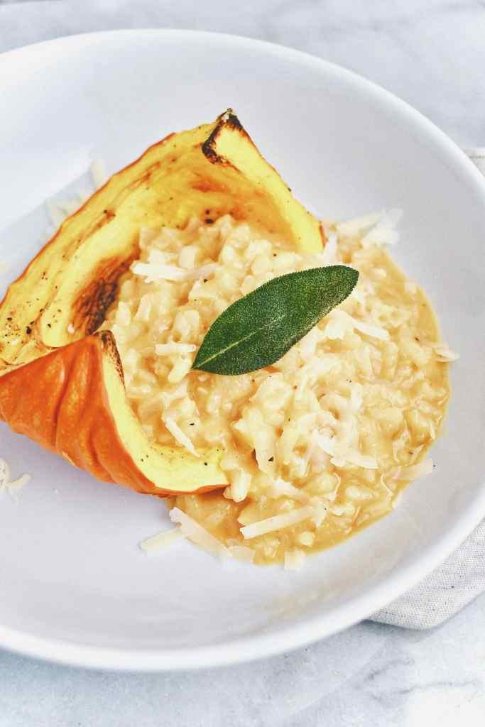 Pumpkin Sage Risotto