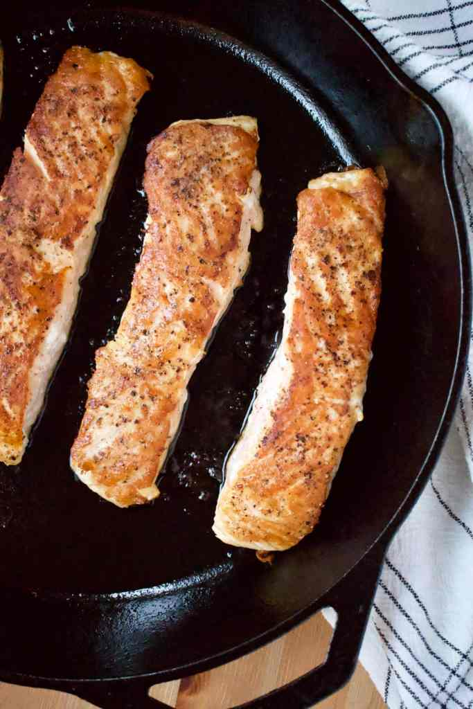 Seared Atlantic Salmon